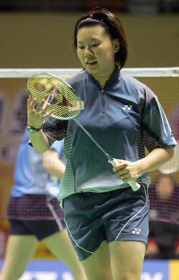 图文-苏迪曼杯羽毛球赛次日赛况马来西亚选手