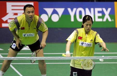 图文-苏迪曼杯中国轻取印尼高��准备发动奇袭