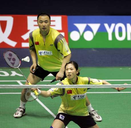 图文-苏迪曼杯中国轻取印尼高��封网技术娴熟