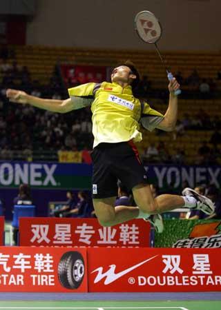 图文-苏迪曼杯中国轻取印尼超级丹再演飞龙在天