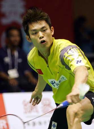 图文-苏迪曼杯中国轻取印尼超级丹反手也强劲