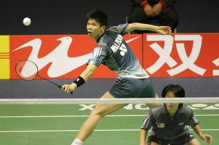 图文-[苏迪曼杯]马来西亚胜日本马来西亚混双强劲