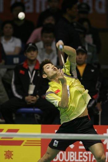 图文-苏杯半决赛中国VS韩国林丹实力高人一筹