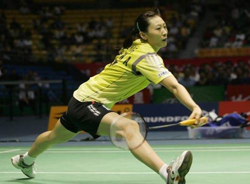 图文-苏杯半决赛中国完胜韩国张宁正手攻球