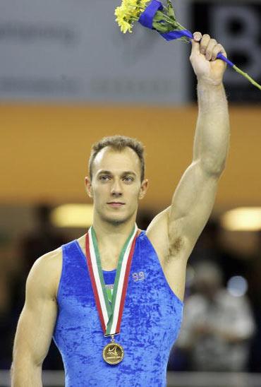 图文-欧洲体操锦标赛战况激烈科波利诺心满意足