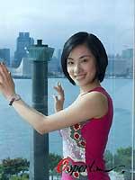 逛香港狂扫化妆品体操公主刘璇想向华仔偷师(图)