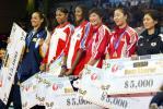 图文-女排大奖赛总决赛颁单项奖中国收获两奖项