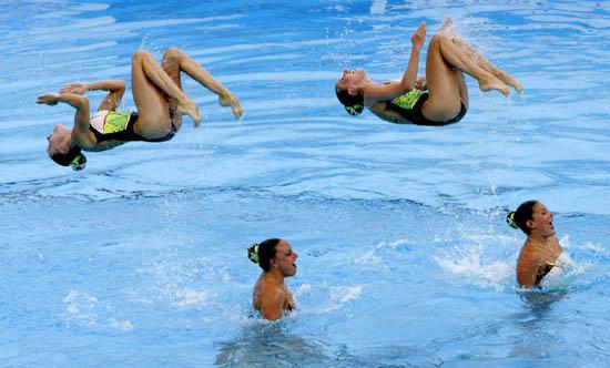 ...尔消息,第11届世界游泳锦标赛进入第二天,花样游泳开始正式比