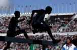 图文-世锦赛次日战况三千米障碍赛激战