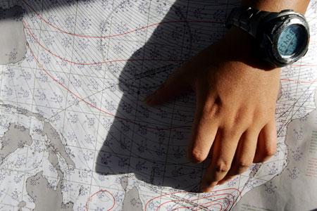 图文-骑士号起航穿越黄金水道马六甲细细规划航线