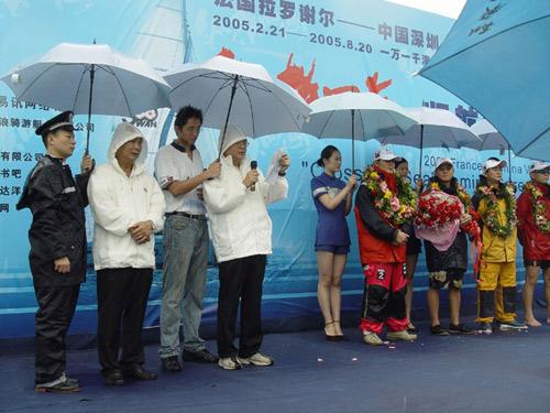 图文-骑士号返航仪式隆重举行深圳市领导讲话