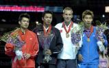 图文-林丹获得世锦赛男单亚军胜利者们的节日