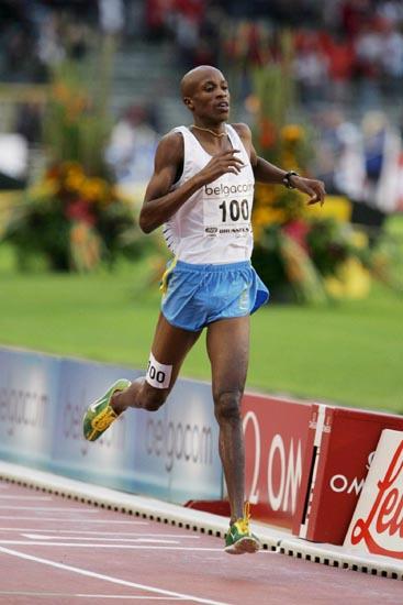图文-黄金联赛布鲁塞尔站沙辛获3000米障碍冠军