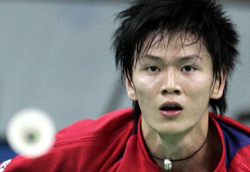 图文-大师赛中国选手稳获男单冠军鲍春来憧憬夺冠