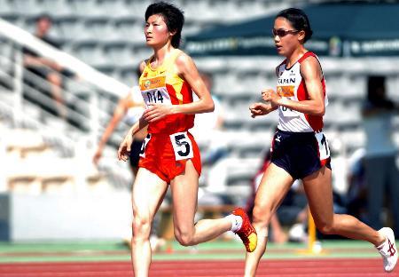 图文-东亚运田径比赛结束邢慧娜领先优势难撼动