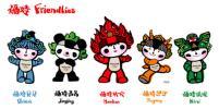 图文-北京奥运吉祥物正式发布五个福娃齐亮相