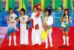 图文-超女助阵奥运吉祥物揭晓超女五名将到场