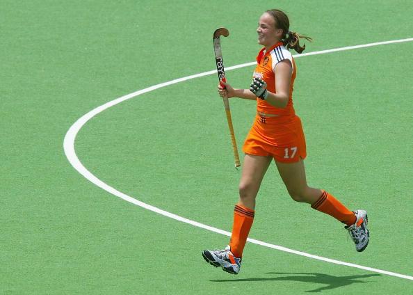 图文-冠军杯荷兰女曲2比1阿根廷鲍曼绝杀兴奋不已