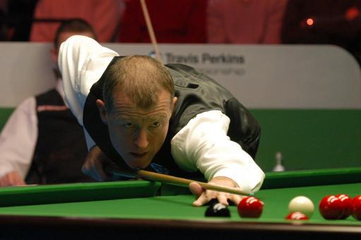 图文-斯诺克英锦赛两传奇对决戴维斯找回状态