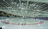 图文-都灵冬奥会速滑比赛场馆奥沃尔-林格托试运行