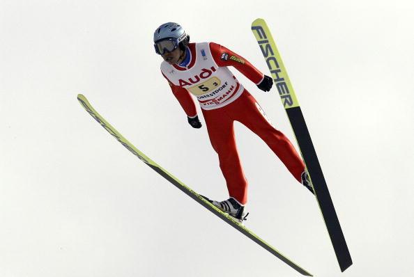 图文-都灵冬奥会亚洲军团前瞻北村崇师高台滑雪