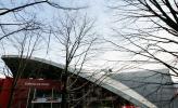 图文-冬奥花滑短道速滑场馆冬季里的帕拉维拉