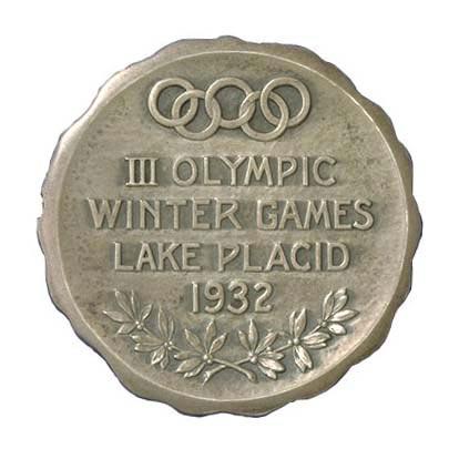 图文-历届冬奥会奖牌一览第3届美国普莱西德湖奖牌