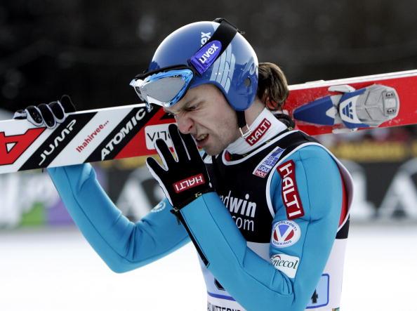 图文-高台滑雪世界杯团体赛落幕阿霍宁独木难支