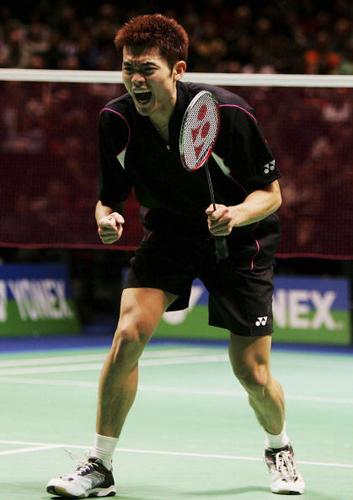 图文-全英羽毛球男单半决赛昂首挺进全英决赛