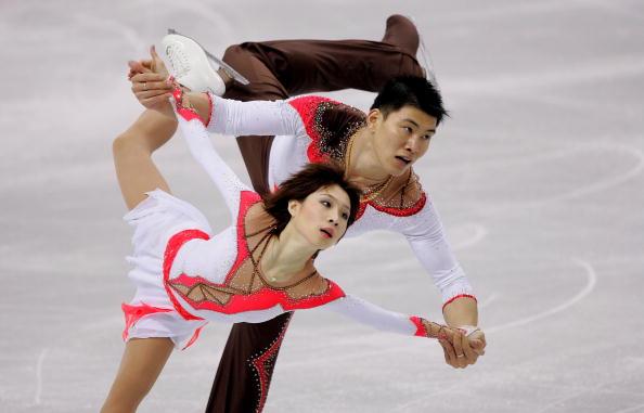 图文-张丹张昊神奇获得银牌龙的传人震撼都灵