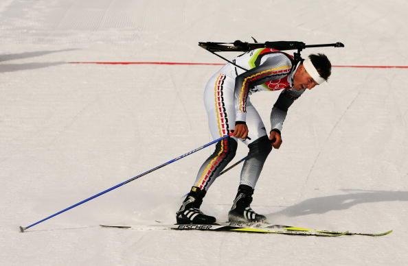 图文-冬季两项男子10公里竞速赛疲劳程度可想而知