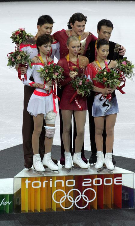 冬奥会花样滑冰双人滑中国收获一银一铜