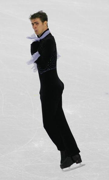 花样滑冰男子单人滑_图文-花样滑冰男子单人自由滑 佐尔坦表情怪异