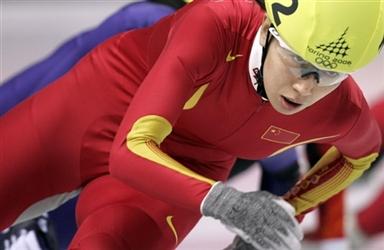 图文-短道速滑女子1500米预赛目光炯炯有神