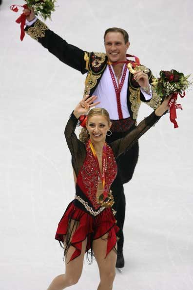 图文-冬奥冰舞自由舞魅力难敌冰上展示金牌