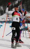 图文-越野滑雪女子竞速赛克劳福德摆POSE