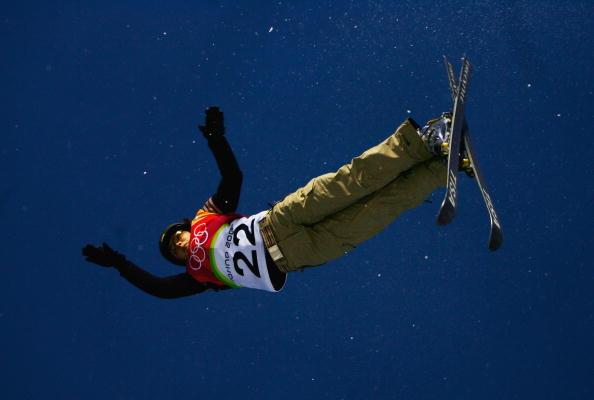 图文-女子空中技巧资格赛沃尔科娃空中轻灵旋转