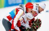 图文-冬季两项女子4x6公里接力赛德国队给大家鞠躬