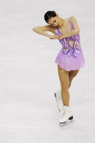 图文-花样滑冰女子单人滑美丽公主恍入睡梦