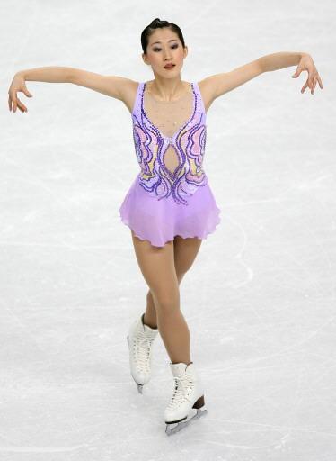 图文-花样滑冰女子单人滑刘艳似仙子下凡