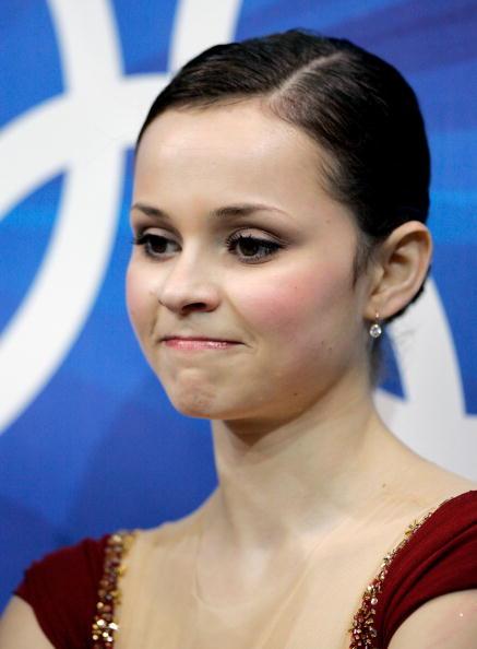图文-花样滑冰女子单人滑科恩美丽梨花带雨