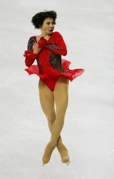 图文-花样滑冰女子单人滑斯鲁茨卡娅拼了