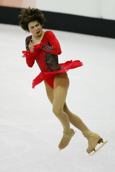 图文-花样滑冰女子单人滑斯鲁茨卡娅凤凰涅��