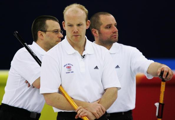 图文-冬奥会男子冰壶三四名英国队大势已去