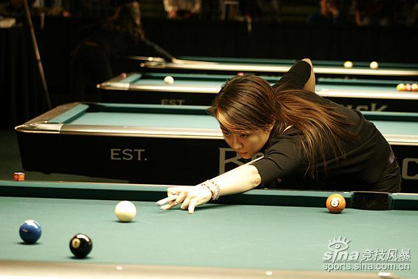 图文-潘晓婷巡回赛两连胜下个目标是蓝色2号