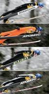 图文-冬奥会合成图片特辑跳台滑雪芬兰4选手对比