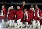 图文-都灵冬奥会闭幕式加拿大队将做东道主