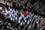 图文-中国代表团出席闭幕式缓缓步入会场