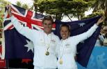 图文-英联邦运动会铁人三项赛澳大利亚的骄傲