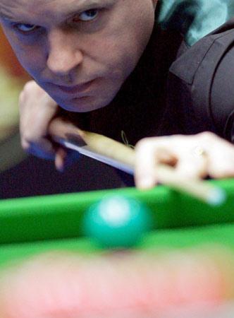 图文-斯诺克中国赛开杆斯威尔淘汰刘闯晋级正赛